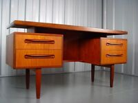 G-Plan Fresco Teak Dressing Table Designed By V.B. Wilkins, 1960's