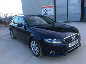 2009 AUDI A4 AVANT SE TDI ESTATE, FACELIFT, LONG MOT, F/S/H, CLEAN CAR, LOADED