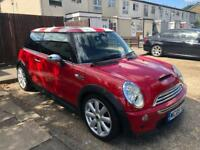 2005 05, Mini Cooper S 1.6i 16v Manual, 106K Miles, Petrol, 11M MOT, Half leather, Service History