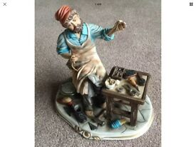 Vintage Capodimonte The Cobbler by Cortese No63
