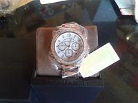 Beautiful Mickael Kors watch rose gold