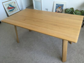 Contempory Oak Dining Table