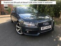 finance ava 2009 audi a4 diesel trade in welcome
