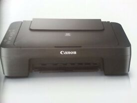 Brand New Black Canon Printer (new ink cartridges included)