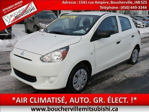 2015 Mitsubishi Mirage ES PLUS*AIR CLIM. AUTOMATIQUE*