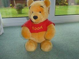 Winnie the Pooh Cuddly Toy from Disneyland Paris