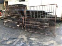 Cast iron 13 foot entrance gates