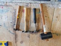 3x hammers/ 1x mallet