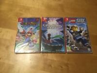 Brand new Nintendo switch games for trade