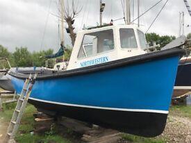 Cygnus 21 fishing boat/work boat