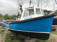 Cygnus 21 fishing boat/work boat
