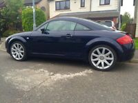 Audi TT Quattro 1.8T 225 bhp. Drives without fault and in good condition.