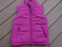 "Girls ""Mountainlife"" Gilet in immaculate condition age 7-8yrs."