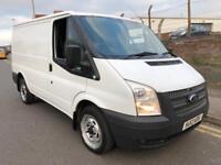 2013 13 Ford Transit 2.2 TDCI T260 100 SWB Box Van White Turbo Diesel NO VAT
