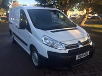 CITROEN DISPATCH ENTERPRISE, 2015 (15) 15000 MILES WITH 1 OWNER, FULLY SPECCED WITH AIRCON & SATNAV