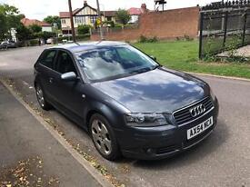 AUDI A3 2.0 TDI. SPORT 103000 MILES FULLSERVICE HISTORY 1 OWNER SERVICED AT 96000 MILES 6 SPEED