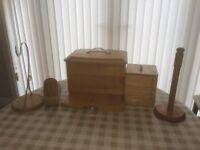 Kitchen Storage Items - Wood