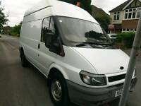 Very reliable Ford transit t350 high roof van