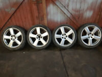 """18"""" Audi RS6 Style Alloys 5x112,To Fit VW,Skoda,Seat"""