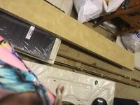 2x beech Ikea floating shelves