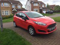 Ford Fiesta Studio 2014 1.2 Race Red 3-Door (63 Plate / 1 Owner) Low Mileage