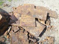 table tops steel plates recycled