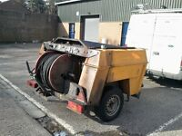 Harben Jetter-4000 psi, new jockey wheel, starter motor, battery and exhaust.
