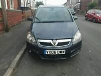 Vauxhall zafira 1.9td 7 seater
