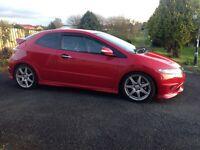 2007 Honda Civic fn2 type R, red ,