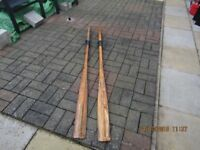 PAIR OF OARS 70INS LONG