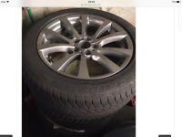 BMW X5 Original winter wheels and tires