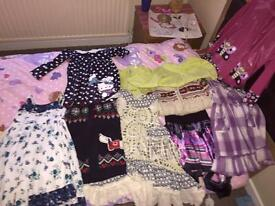 Small bundle of girls clothes 4-5 years (Excellent condition)