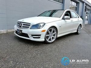 2012 Mercedes-Benz C-Class C350 4MATIC! Loaded! Easy Approvals!