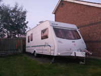 5 berth Lunar Astara525,with Truma motor mover,Camptech Savannah awning and Tall deluxe bedroom