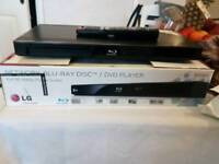 LG network blue ray disc/dvd player