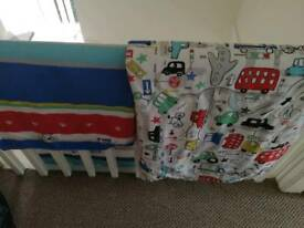Next Toddler Boys vehicles Bedding set