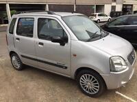 Suzuki wagon+R 1.3, automatic, 2003, mot, petrol, silver