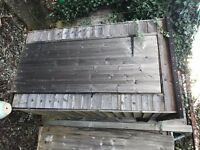GARDEN SHED 4FT X 2FT IN CHESSINGTON, SURREY