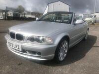 BMW 318 CI Petrol Convertible Silver