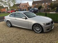 BMW E92 330D M Sport Coupe- Manual and Individual Colour