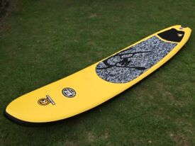 Stand Up Paddleboard, SUP: C4 Waterman iSUP 10ft6
