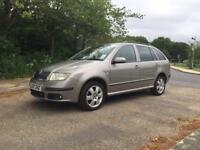 SKODA FABIA 1.4 BOHEMIA PETROL LIMITED EDITION 2007 ONLY DONE 74K FROM NEW