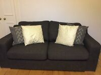 Charcoal Grey 3-seater Sofa