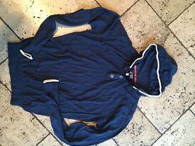 Armani hooded jumper