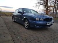 Jaguar X-Type Sport 2.2 Diesel – Stunning metallic blue, Full Year's MOT, FSH