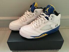 Brand New UK7 Jordan 5 Laney £125(Nike Supreme Air Max Jordan Bape Yeezy Kanye Adidas Kobe Huarache)