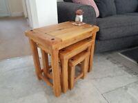 Coffee/Side tables. Oak furniture Land