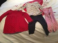 Girl clothes 9/12 months
