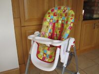 Mothercare High Chair 2012