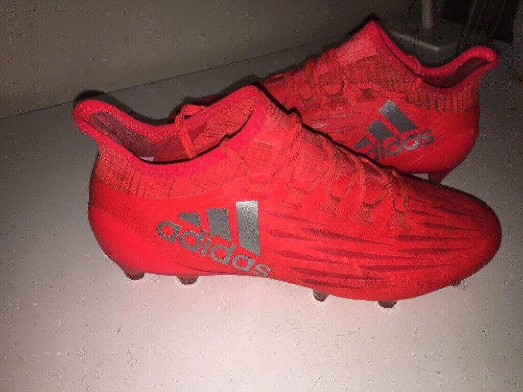 adidas X 16.1 FG football boots size 7  fa0499677